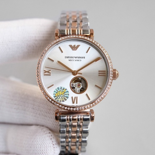 Armani AAA Quality Watches For Women #840237 $235.00 USD, Wholesale Replica Armani Quality Watches