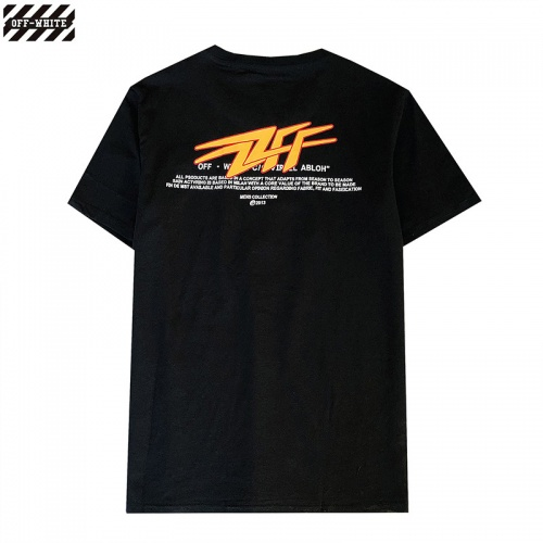 Off-White T-Shirts Short Sleeved For Men #840242 $27.00, Wholesale Replica Off-White T-Shirts