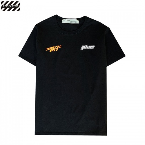 Replica Off-White T-Shirts Short Sleeved For Men #840242 $27.00 USD for Wholesale