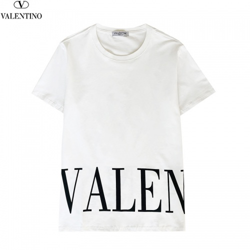 Replica Valentino T-Shirts Short Sleeved For Men #840249 $27.00 USD for Wholesale