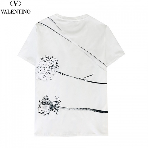 Replica Valentino T-Shirts Short Sleeved For Men #840251 $27.00 USD for Wholesale