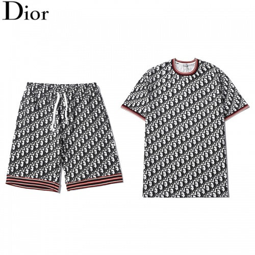 Christian Dior Tracksuits Short Sleeved For Men #840252
