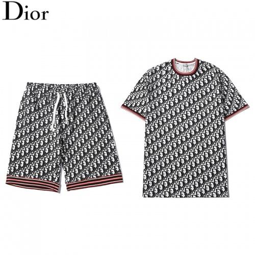 Christian Dior Tracksuits Short Sleeved For Men #840252