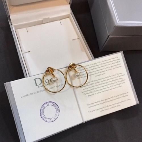 Christian Dior Earrings #840338 $29.00, Wholesale Replica Christian Dior Earrings