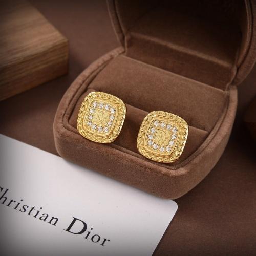 Christian Dior Earrings #840339 $29.00, Wholesale Replica Christian Dior Earrings
