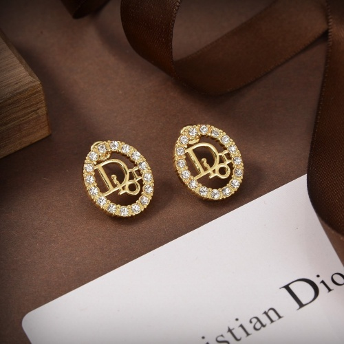 Christian Dior Earrings #840340 $29.00, Wholesale Replica Christian Dior Earrings