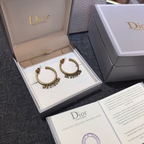 Christian Dior Earrings #840343 $29.00, Wholesale Replica Christian Dior Earrings