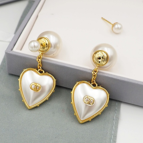 Christian Dior Earrings #840344 $32.00, Wholesale Replica Christian Dior Earrings