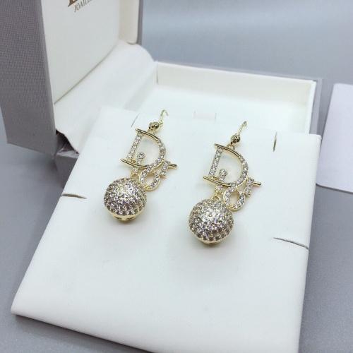 Christian Dior Earrings #840345 $32.00, Wholesale Replica Christian Dior Earrings