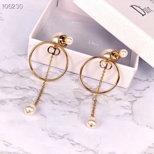 Christian Dior Earrings #840347 $34.00, Wholesale Replica Christian Dior Earrings
