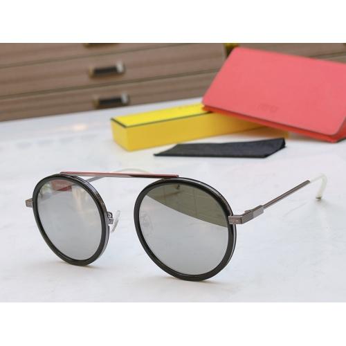 Fendi AAA Quality Sunglasses #840348 $60.00 USD, Wholesale Replica Fendi AAA Sunglasses