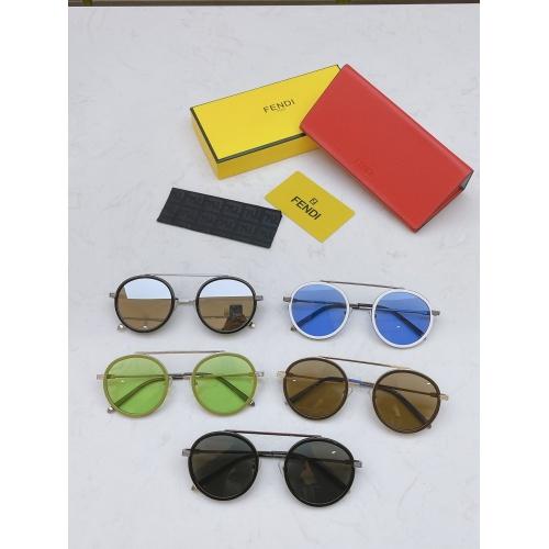 Replica Fendi AAA Quality Sunglasses #840348 $60.00 USD for Wholesale