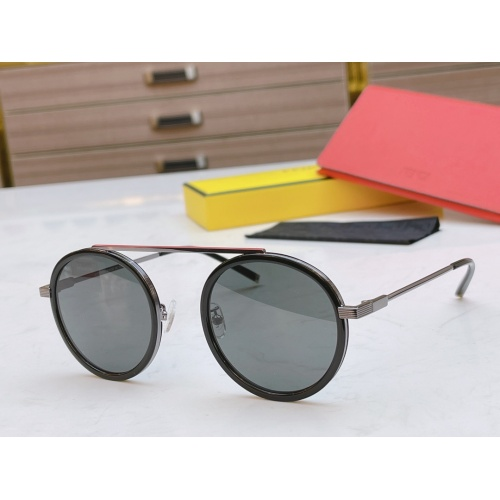 Fendi AAA Quality Sunglasses #840349