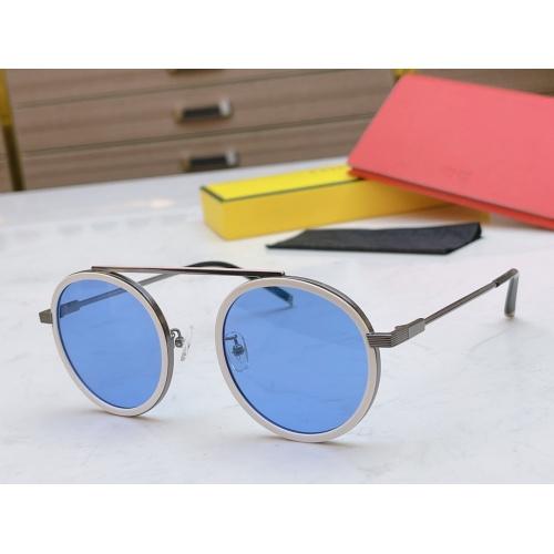 Fendi AAA Quality Sunglasses #840351 $60.00 USD, Wholesale Replica Fendi AAA Sunglasses