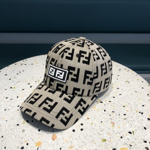 Fendi Caps #840385 $32.00 USD, Wholesale Replica Fendi Caps