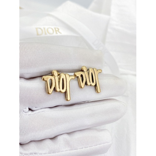 Christian Dior Earrings #840400 $29.00, Wholesale Replica Christian Dior Earrings