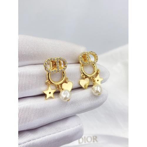 Christian Dior Earrings #840402 $29.00, Wholesale Replica Christian Dior Earrings