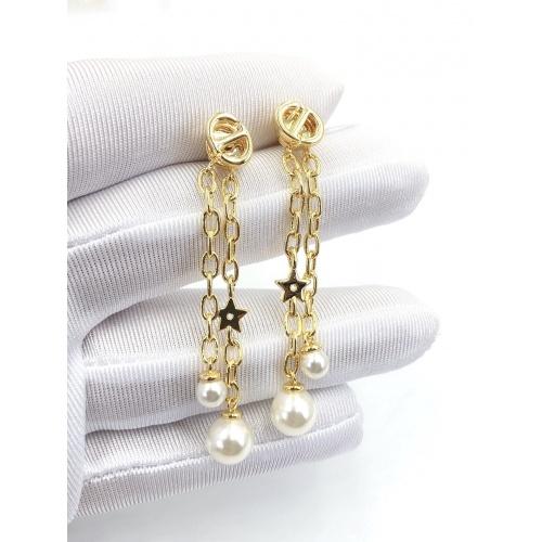Christian Dior Earrings #840403 $32.00, Wholesale Replica Christian Dior Earrings