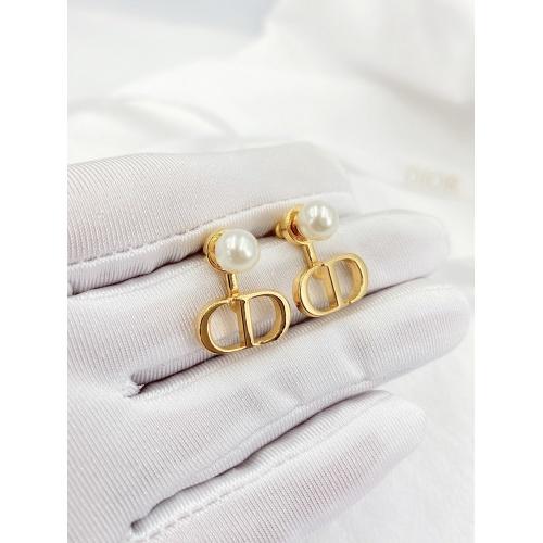 Christian Dior Earrings #840404 $27.00, Wholesale Replica Christian Dior Earrings