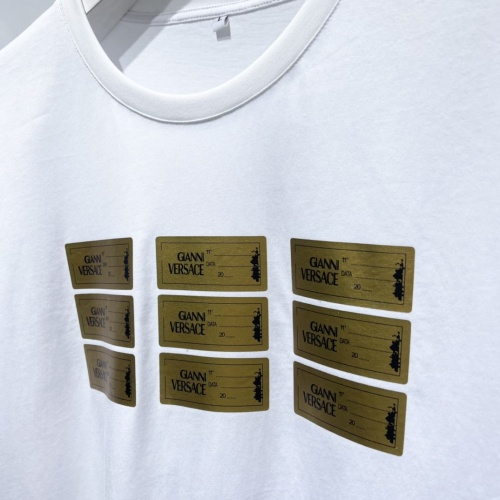 Replica Versace T-Shirts Short Sleeved For Men #840475 $41.00 USD for Wholesale