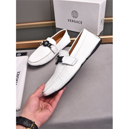 Versace Casual Shoes For Men #840482 $72.00, Wholesale Replica Versace Casual Shoes