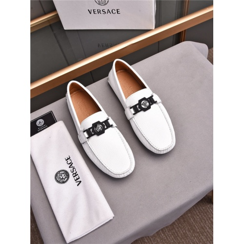Replica Versace Casual Shoes For Men #840482 $72.00 USD for Wholesale