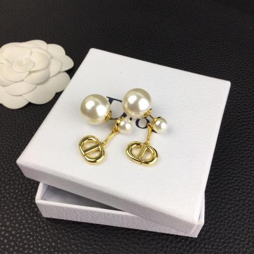 Christian Dior Earrings #840521 $27.00, Wholesale Replica Christian Dior Earrings