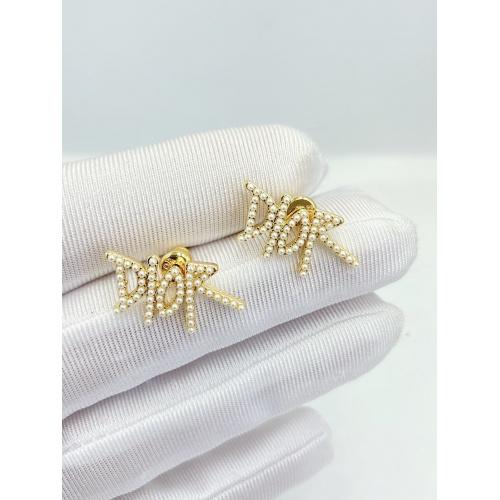 Christian Dior Earrings #840522 $27.00, Wholesale Replica Christian Dior Earrings