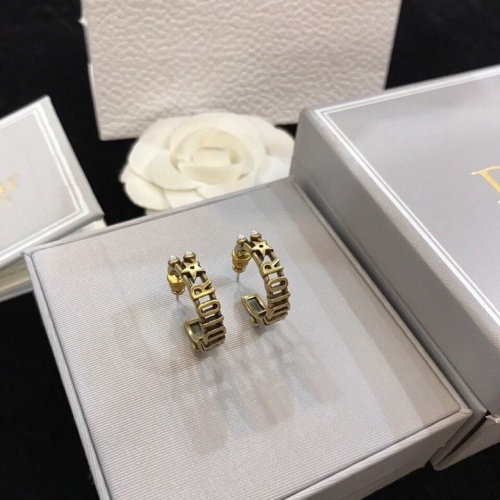 Christian Dior Earrings #840523 $29.00, Wholesale Replica Christian Dior Earrings