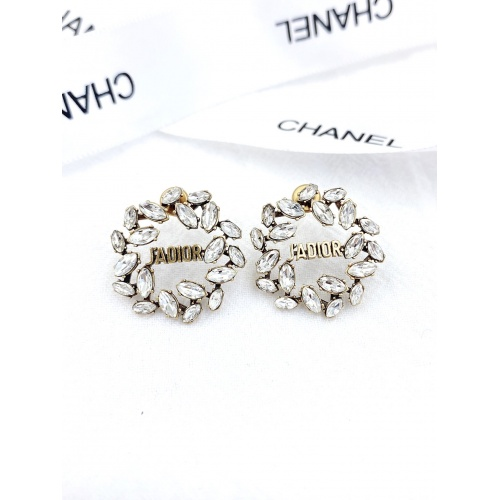Christian Dior Earrings #840526 $29.00, Wholesale Replica Christian Dior Earrings