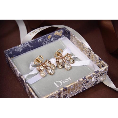 Christian Dior Earrings #840527 $29.00, Wholesale Replica Christian Dior Earrings