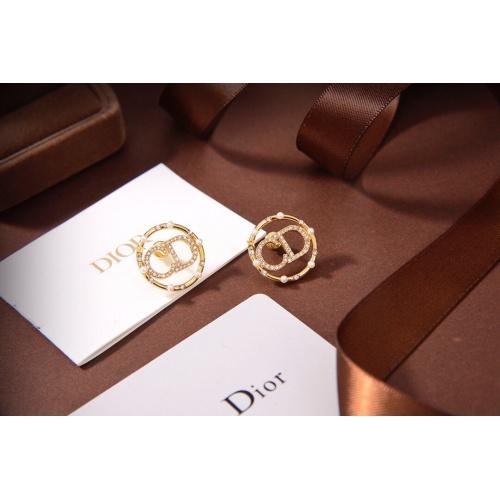 Christian Dior Earrings #840530 $32.00, Wholesale Replica Christian Dior Earrings