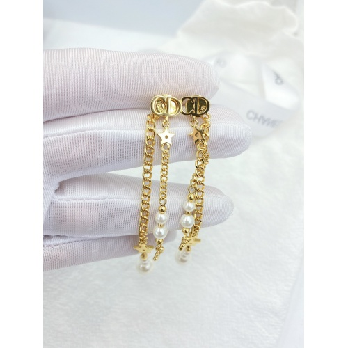 Christian Dior Earrings #840533 $32.00, Wholesale Replica Christian Dior Earrings