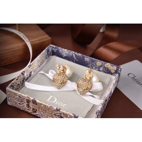 Christian Dior Earrings #840534 $32.00, Wholesale Replica Christian Dior Earrings