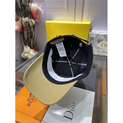 Replica Burberry Caps #840613 $27.00 USD for Wholesale