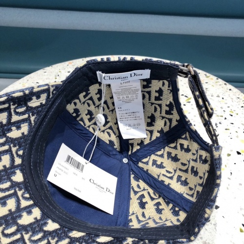 Replica Christian Dior Caps #840624 $32.00 USD for Wholesale