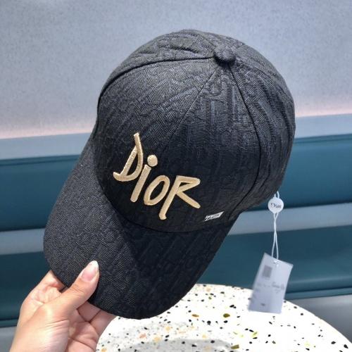 Replica Christian Dior Caps #840626 $32.00 USD for Wholesale