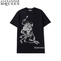 $27.00 USD Alexander McQueen T-shirts Short Sleeved For Men #836007