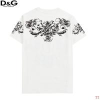 $27.00 USD Dolce & Gabbana D&G T-Shirts Short Sleeved For Men #839009