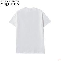 $27.00 USD Alexander McQueen T-shirts Short Sleeved For Men #839023