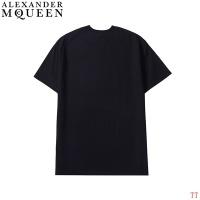 $27.00 USD Alexander McQueen T-shirts Short Sleeved For Men #839025