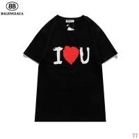 $27.00 USD Balenciaga T-Shirts Short Sleeved For Men #839317
