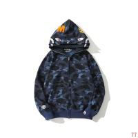 $60.00 USD Bape Hoodies Long Sleeved For Men #839361
