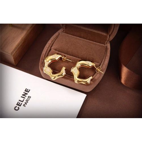 Celine Earrings #840705 $34.00 USD, Wholesale Replica Celine Earrings