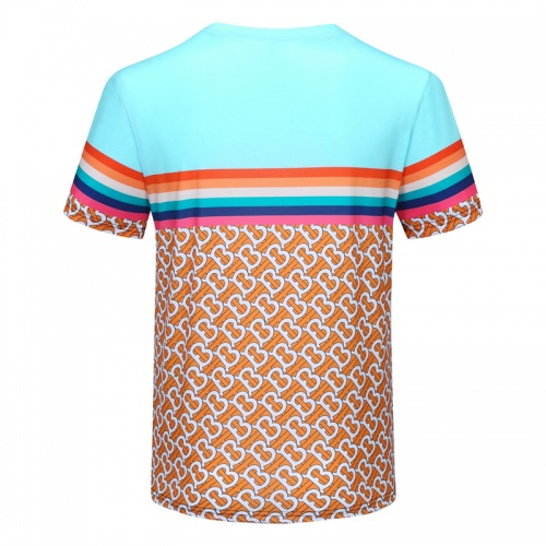 Replica Burberry T-Shirts Short Sleeved For Men #840735 $23.00 USD for Wholesale