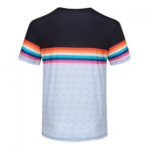 Replica Burberry T-Shirts Short Sleeved For Men #840736 $23.00 USD for Wholesale