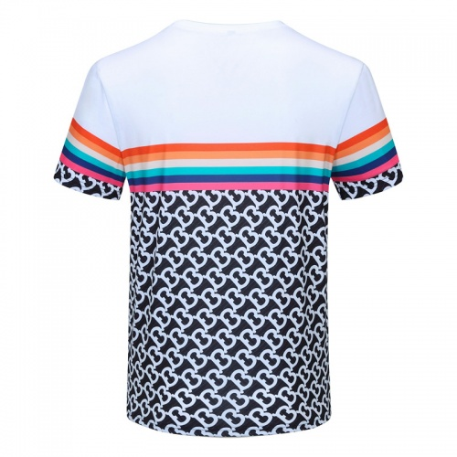 Replica Burberry T-Shirts Short Sleeved For Men #840737 $23.00 USD for Wholesale