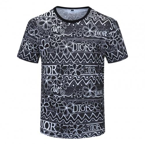 Christian Dior T-Shirts Short Sleeved For Men #840740
