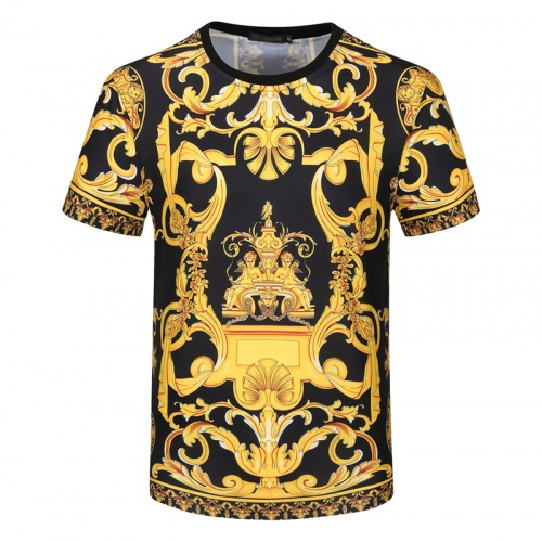 Versace T-Shirts Short Sleeved For Men #840741