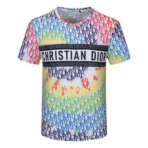 Christian Dior T-Shirts Short Sleeved For Men #840746